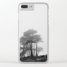 Land's End in the Mist Clear iPhone Case