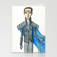 knight Stationery Cards featuring Knight by Eugene Frost