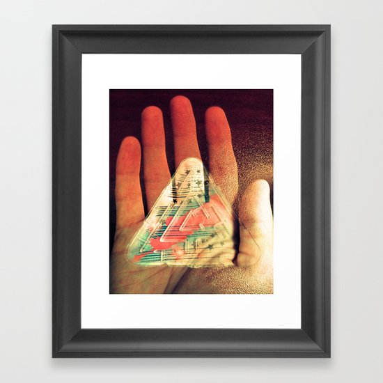 What You Do Is Imprinted On You Framed Art Print