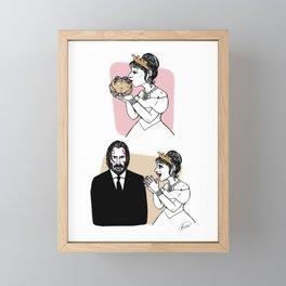 John Wick is the Toad Framed Mini Art Print