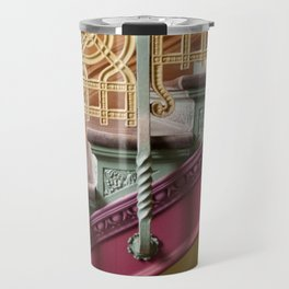 Colourful Staircase Travel Mug