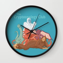 The Cryptozoology Club, 1985 Wall Clock