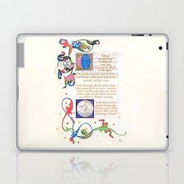 With that sweet moon language Laptop & iPad Skin