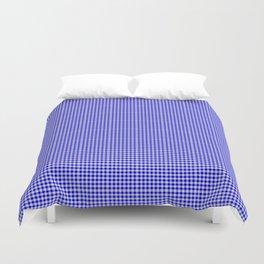 Blue Gingham Duvet Cover