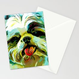 The SCHITZU from our POP YOUR POOCH line Stationery Cards