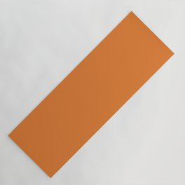 Russet Orange   Pantone Fashion Color   Fall : Winter 2018   New York and London   Solid Color Yoga Mat