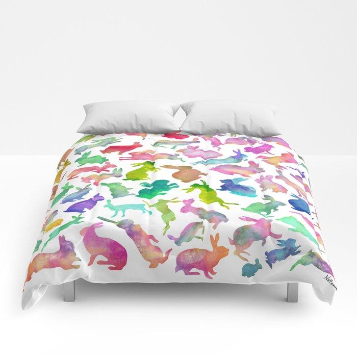 Watercolour Bunnies Comforters
