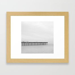 Felixstowe Beach Framed Art Print