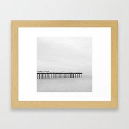 Felixstowe Beach Framed Art Print