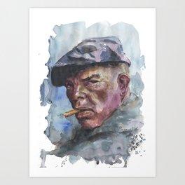 Lee marvin Art Print