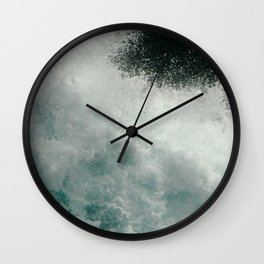 Crossing Cook Strait Wall Clock