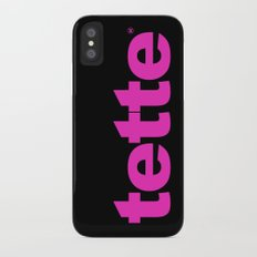 TETTE Slim Case iPhone X