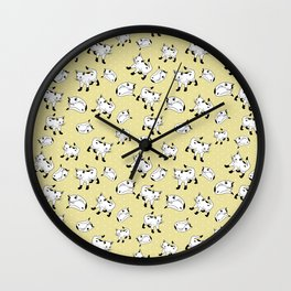 Kitty Corner Wall Clock