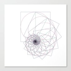 #543 The sum of all things – Geometry Daily Canvas Print