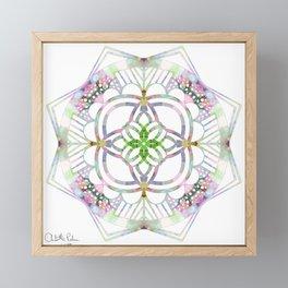 Quarantine kaleidoscope  Framed Mini Art Print