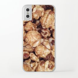 CARAMEL POPCORN Clear iPhone Case