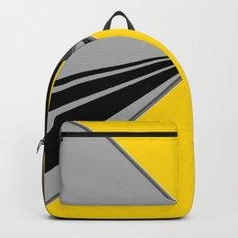 TRIANGULATION Yellow Backpack