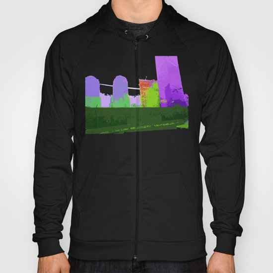 NY#2 Ground Zero, Purple Hoody