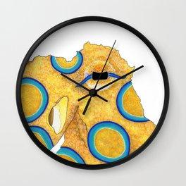 Eye of the Octopus Wall Clock