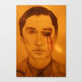 Bruised Eye. Canvas Print