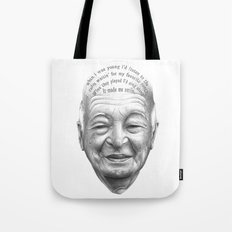 MI VIDA HA SIDO EXTRAORDINARIA SERIES#4 Tote Bag