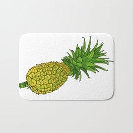 Pi the pineapple Bath Mat