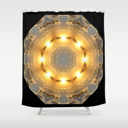 Sunset-in and Out Shower Curtain
