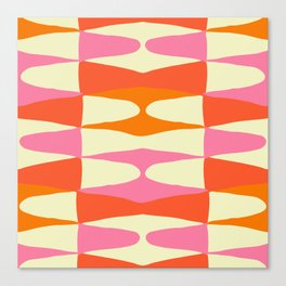Zaha Sixties Canvas Print