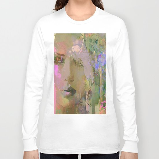 The nameless girl Long Sleeve T-shirt