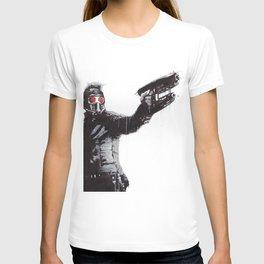 Star-Lord (Peter Quill) Guardians Graffiti Pop Urban Street Art T-shirt