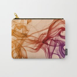 Smoke composition in pastel tones Carry-All Pouch