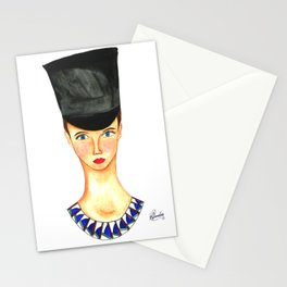 Soldier Girl Stationery Cards