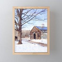 Winter Scene II Framed Mini Art Print