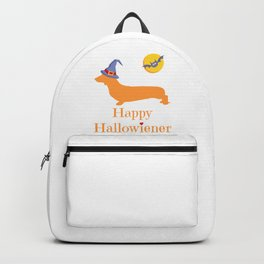 Funny Halloween Design with Dachshund or Wiener Dog - Great Gift for Dog Lovers Backpack