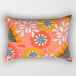 Sweet floral spring pattern Rectangular Pillow