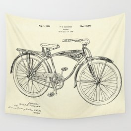 Bicycle-1939 Wall Tapestry