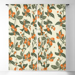 Oranges Pattern Blackout Curtain