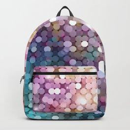 Rainbow glitter texture Backpack