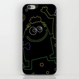 Abstract Kids iPhone Skin