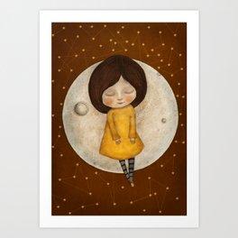 Moon Song 2 Art Print