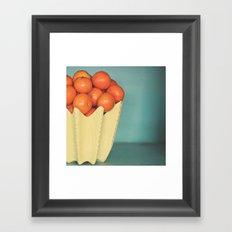 Mandarins Framed Art Print