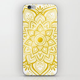 Pure Gold iPhone Skin