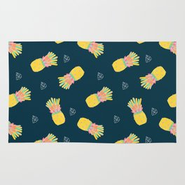 Pineapple Party v2 Rug