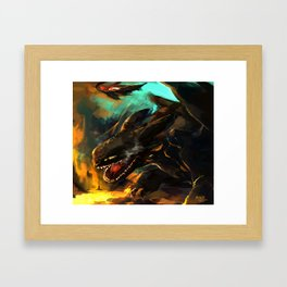 toothless 3 Framed Art Print