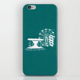 Seaside Fair in Turquoise iPhone Skin