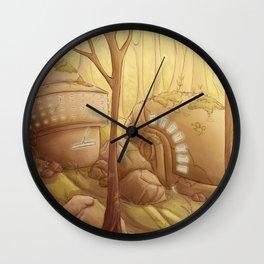 Gust of Wind Wall Clock