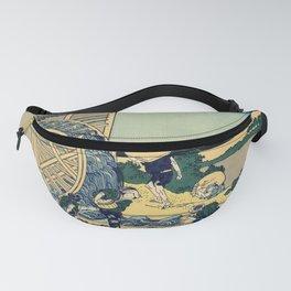 Katsushika Hokusai - 36 Views of Mount Fuji (1832) - 16: Watermill at Onden Fanny Pack