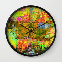 3am Thoughts Wall Clock