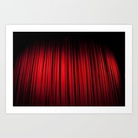 theatre Art Prints featuring Theatre  by KClark Photography