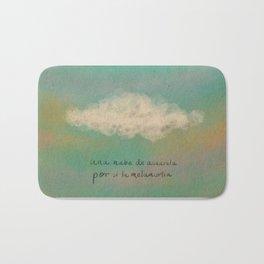 Nube para la melancolía Bath Mat